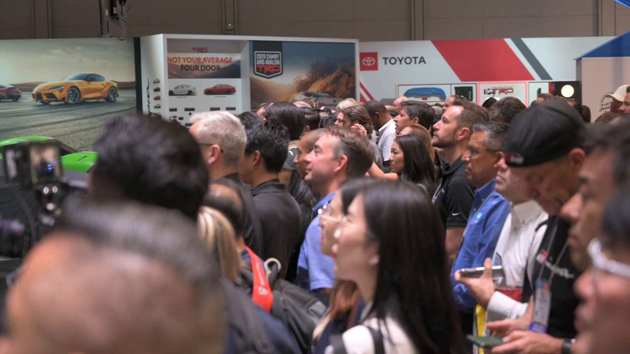 All Of The Toyota Supras At 2019 SEMA