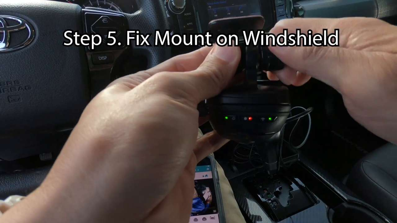 Fix the Mount on your Windshield