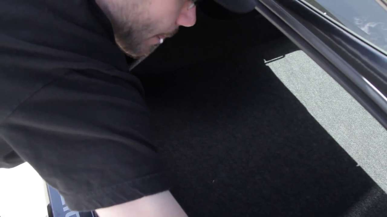 Remove Trunk Panels and Floorboard