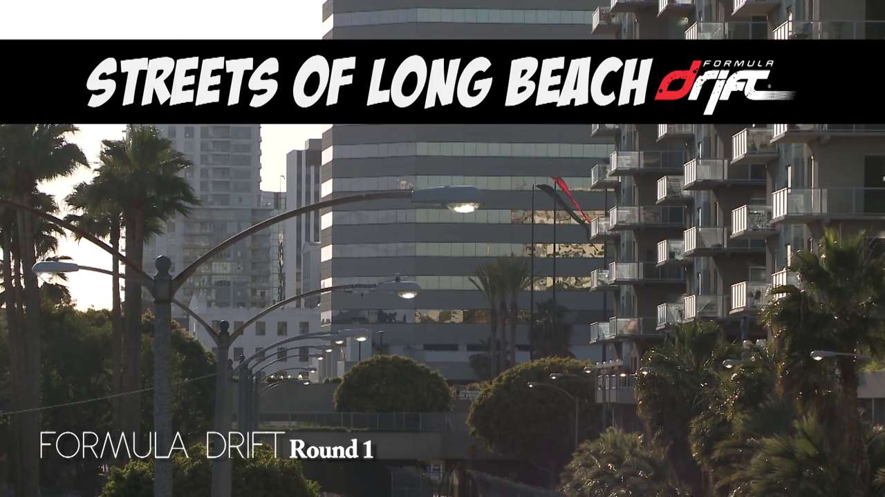 Formula Drift's Streets of Long Beach