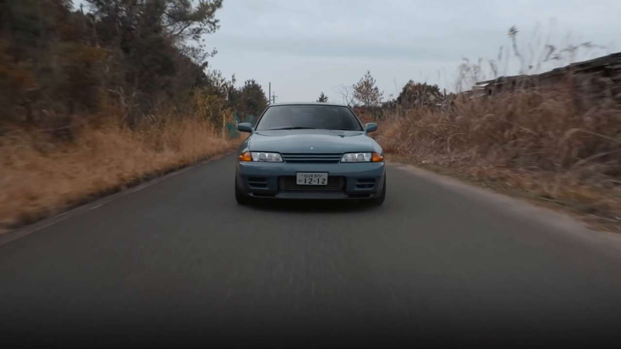 The power of Nissan's R32 GT-R