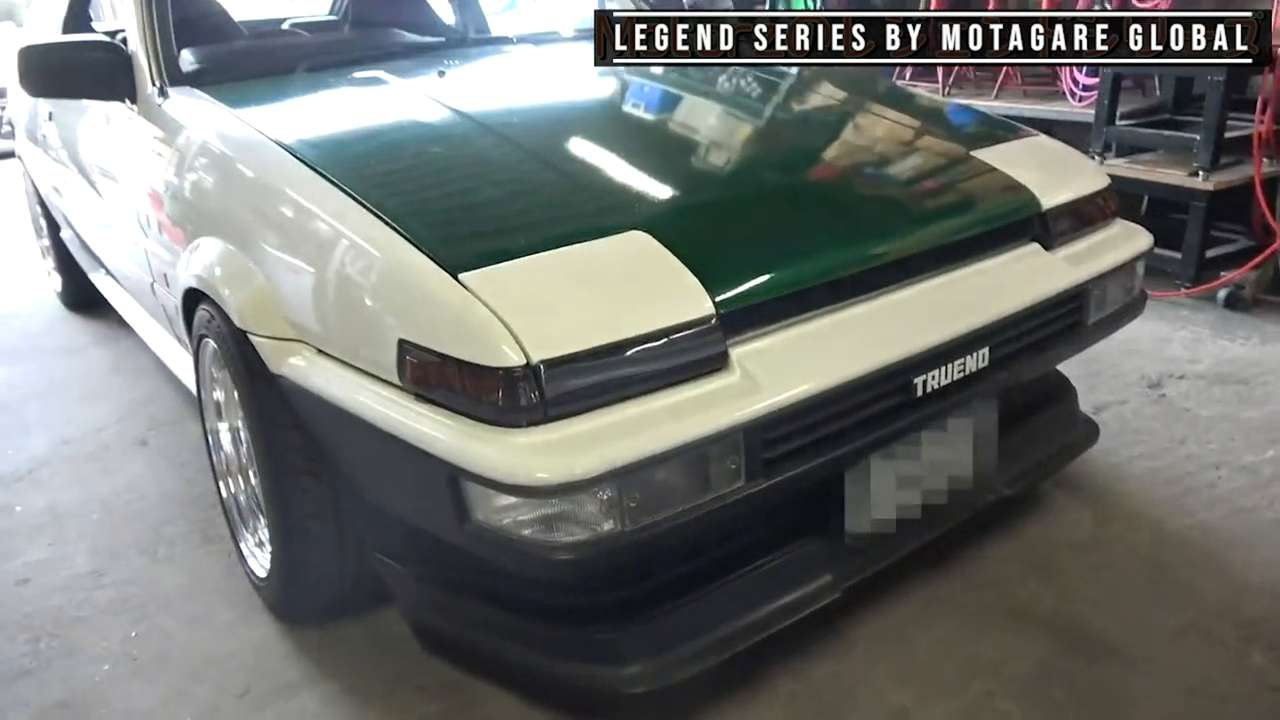 When did the Toyota AE86 first hit the market?
