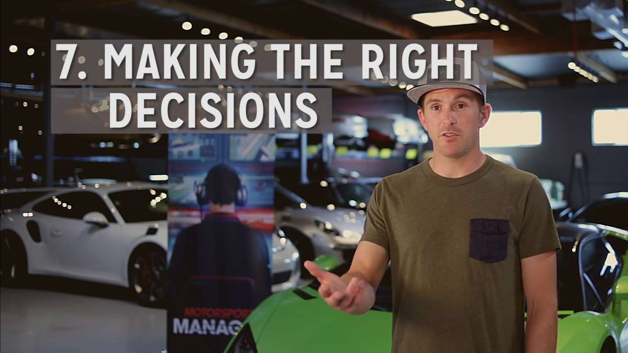 Make the Right Decisions