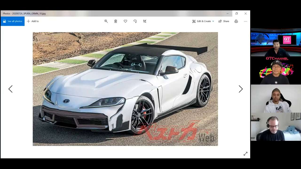 What does Jann Mardenborough think of the upcoming Toyota Supra GRMN model?