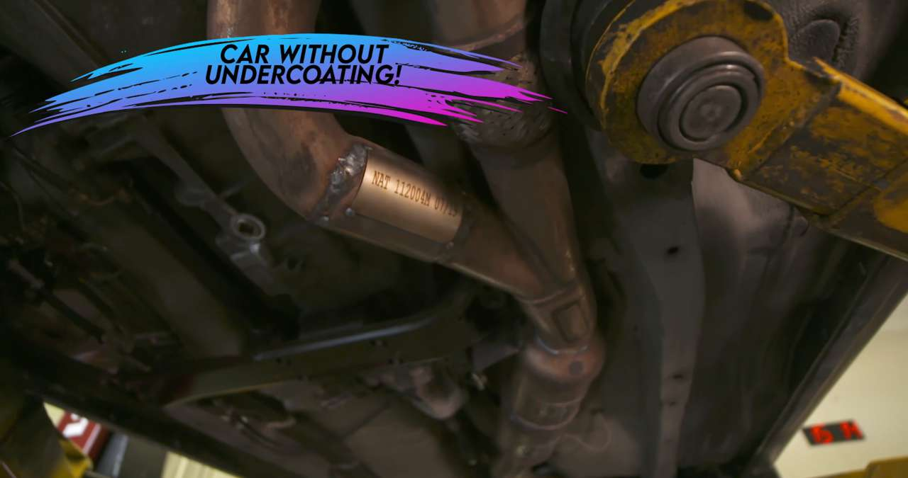 Check for vehicles without undercoating