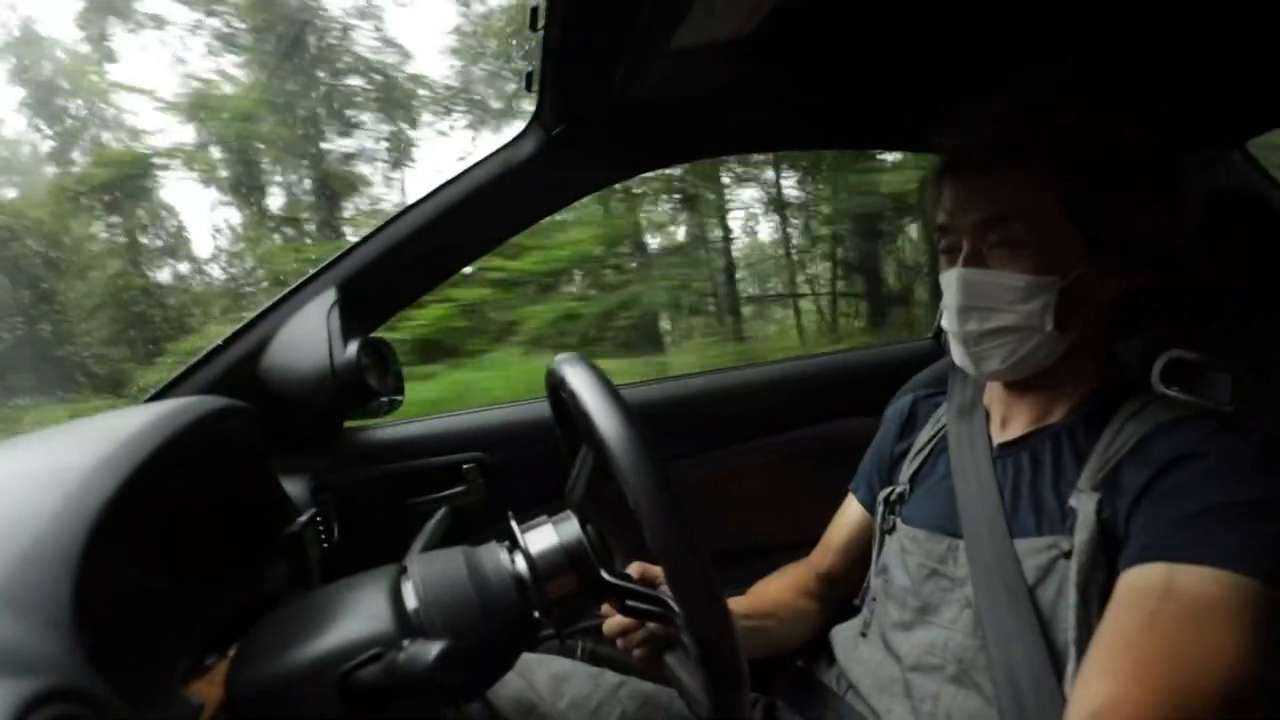 Yasuyuki Kazama takes his Nissan Silvia S15 for a drive down the Venus Line