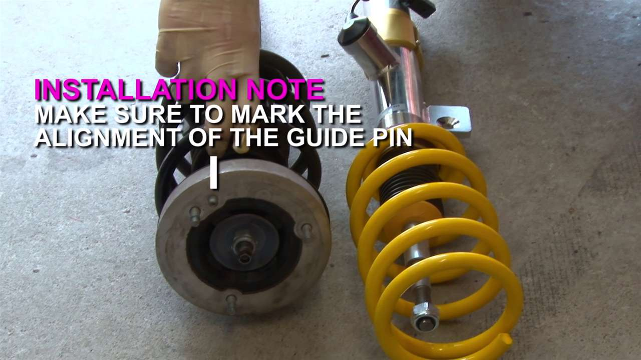 Mark Alignment of Guide Pin