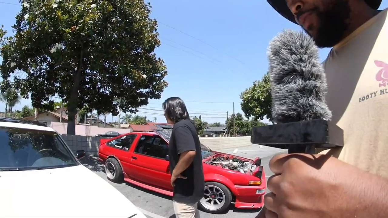 Gary King Jr. breaks down this Nissan 240sx with a SR20DET engine