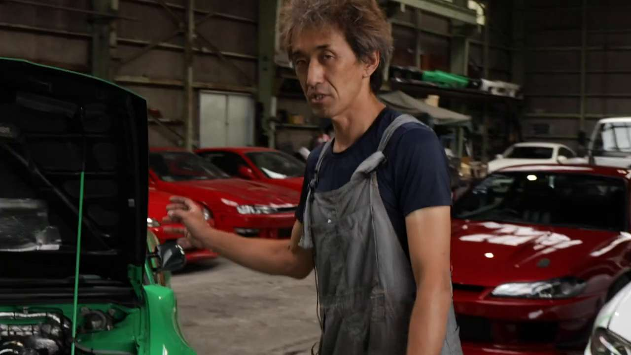What's Yasuyuki Kazama's most prized specialty about his Nissan Silvia S15 build?