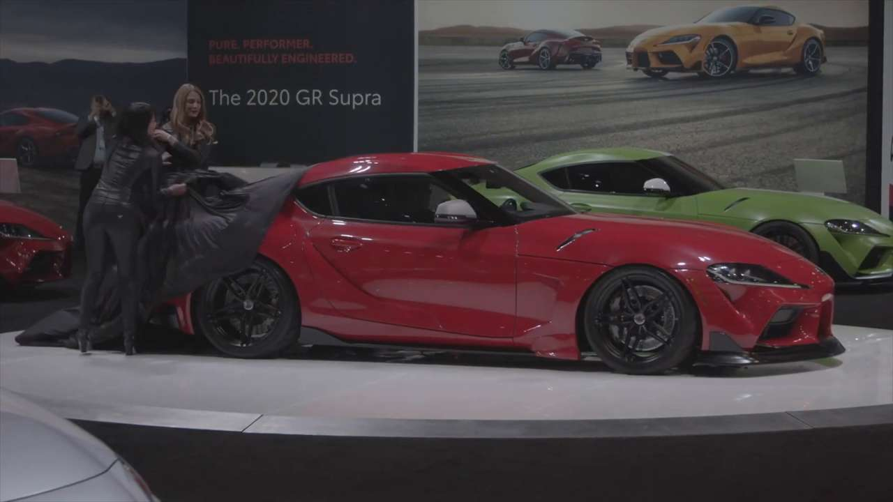 Toyota Puts the Spotlight on the New Supra at the 2019 SEMA Show