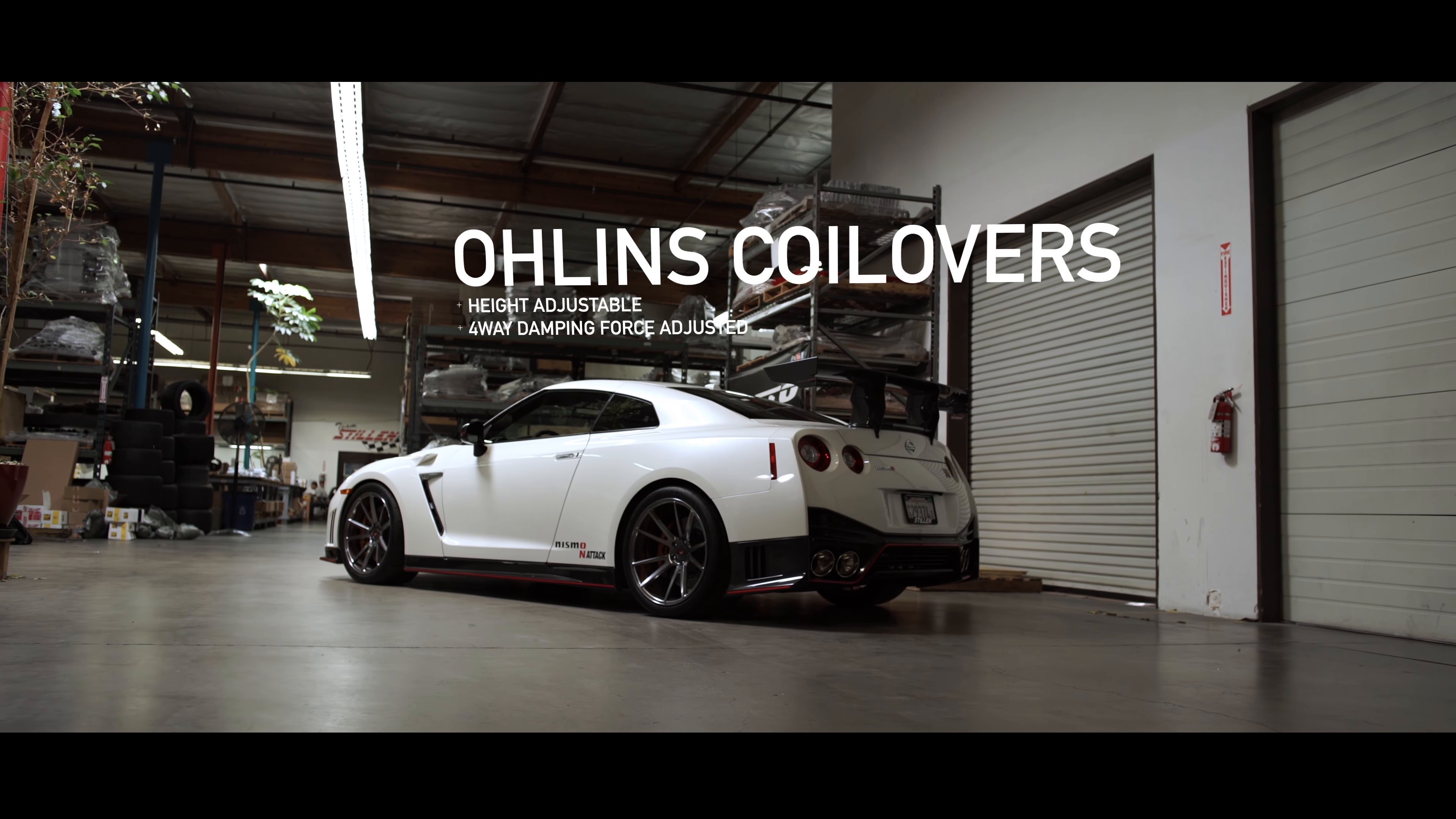 OHLINS COILOVERS SUSPENSION DC5 TYPE R , EP3 OHLINS