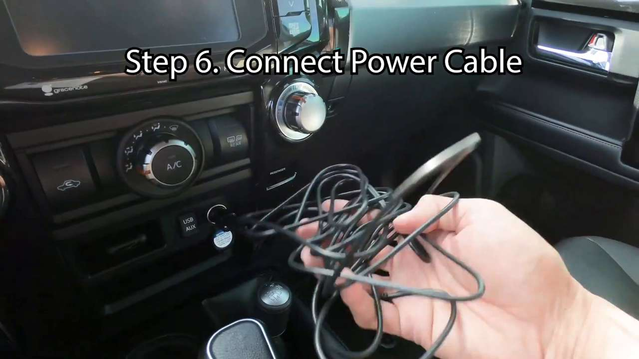 Connect the Power Cable