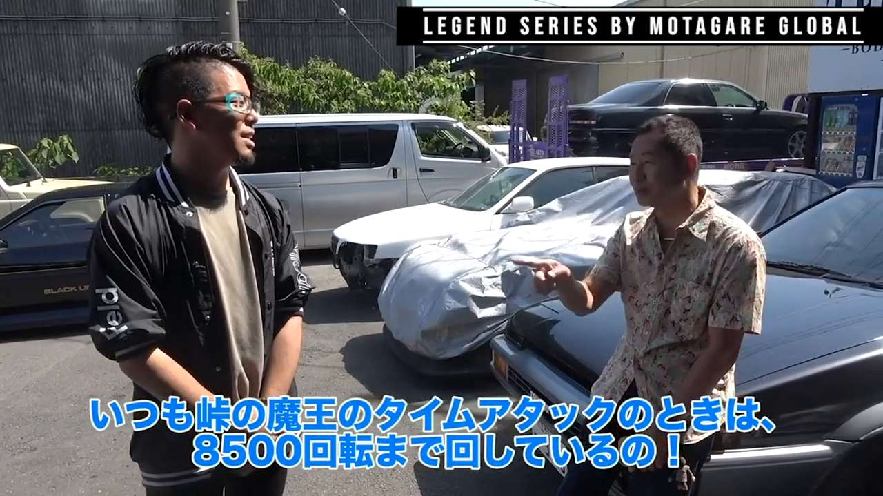 Watch Keiichi Tsuchiya in  Touge Showdown Mode
