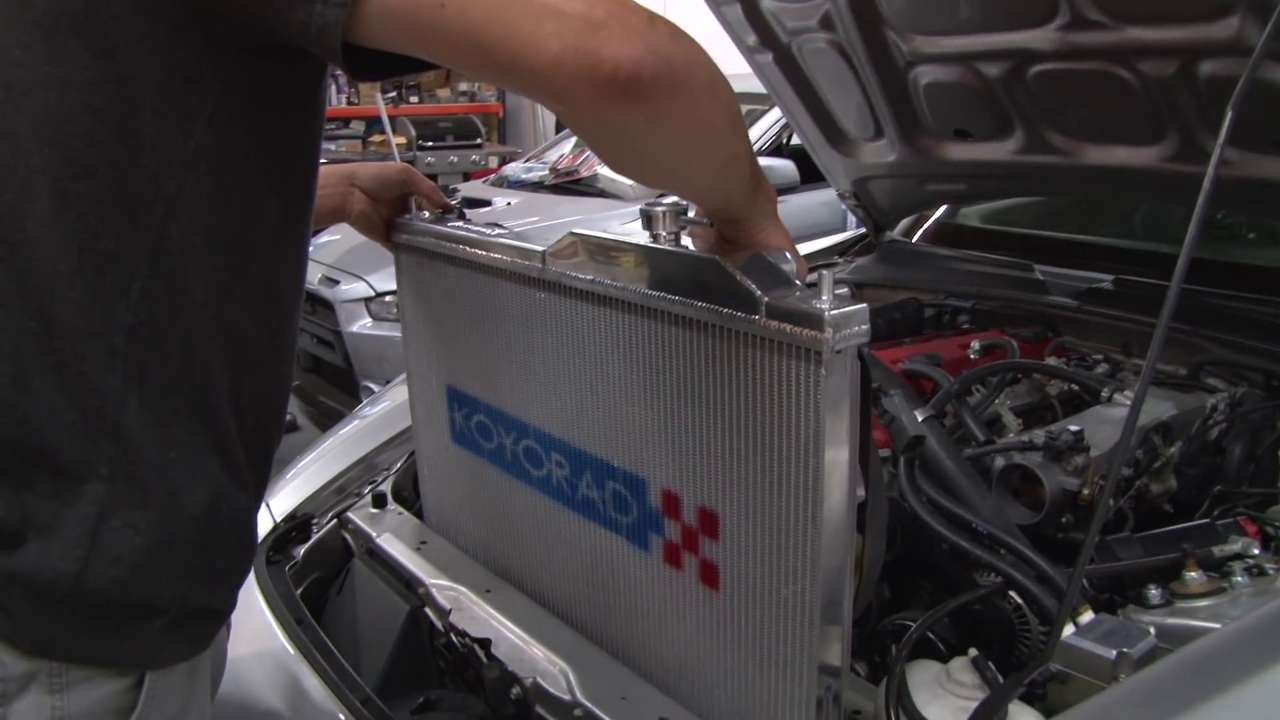 Place Your New Radiator Into Your Vehicle