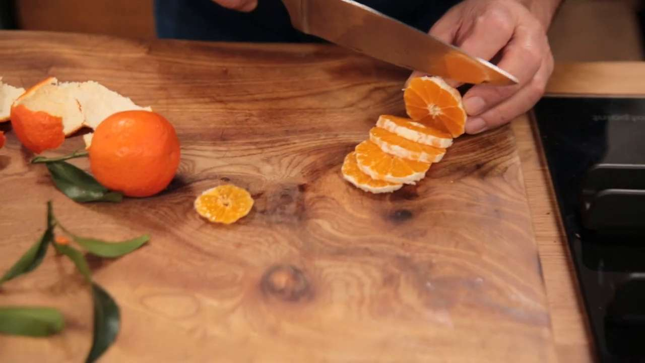 How to caramelise tangerines