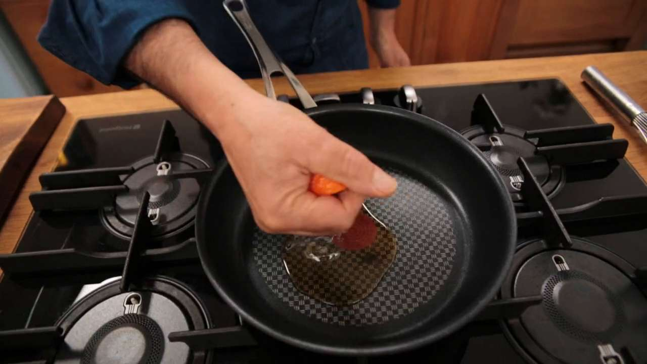 Caramelising in a non-stick pan